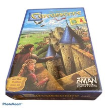 Z-Man Games Carcassonne Strategy Board Game New In Sealed Box ZMG 78100 - $29.69