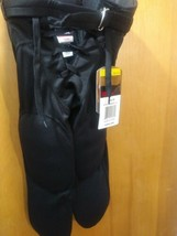 Wilson REDI-PLAY Integrated Football Pant - Youth Small Ysm Black Nwt - $20.79