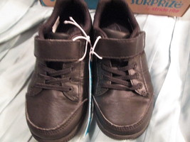 Toddler Bous Surprize By stride Rite with memory foam black shoes size 1... - $15.00