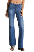 New Nordstrom Womens Size 27 4 NEUW Kick Flare Blue Denim Jeans $179 ret... - $29.39