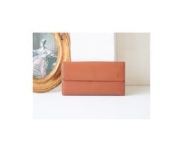 Louis Vuitton Epi Brown Long Bifold Wallet - $420.00