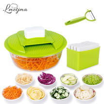 Slicer Set Vegetable Cutter Julienne Fruit Blade Tool Kitchen Adjustable... - €22,90 EUR