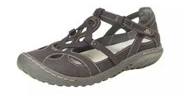 JBU by jambu Sydne flat Sandals size 10 charcoal  - $24.75