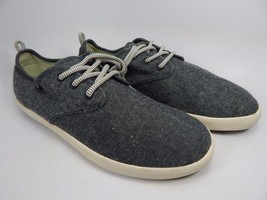 Sanuk Low Top Textile Men's Casual Shoes Size US 9.5 M (D) EU 42.5 Gray