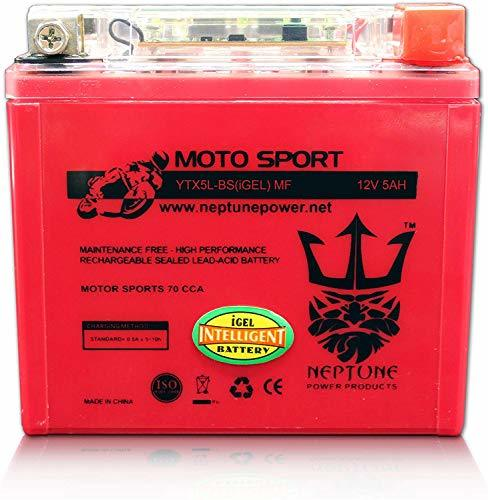 Primary image for YTX5L-BS High Performance Gel Battery for Kawasaki KFX90 07-17 by Neptune