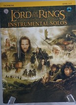 The Lord of the Rings Instrumental Solos Trombone Book ONLY - $6.00