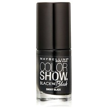 Maybelline Color Show Back to Black Nail Polish, 704 Smoky Black  - $6.92