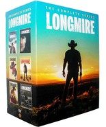Longmire - The Complete Series Seasons 1 2 3 4 5 & 6 DVD Sealed Box Set ... - $42.00