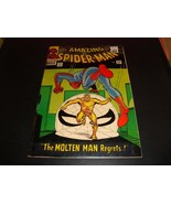 The Amazing Spider-Man #35 Marvel Comic Book 1966 FN Condition (6.0) Mol... - $53.99
