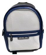 Michael Kors Danika Medium Sapphire Black Leather/Net Backpack $398.00 - $237.59