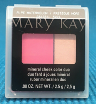 Mary Kay - Mineral Cheek Color Duo Ripe Watermelon New 081351 - $9.99