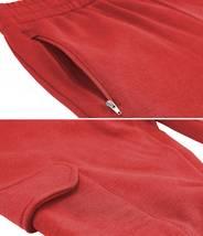 Men's Casual Fleece Sweatpants Sport Gym Workout Fitness Cargo Jogger Pants image 13