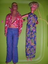 Vintage 1960's Mattel Barbie  & Mailbou Ken Dolls,1960's dolls & clothes. - $9.99