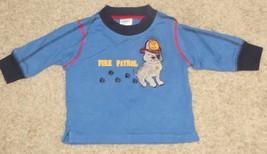 EUC Gymboree Firehouse Hounds Fire Patrol Shirt Size 3-6 3 6 Months - $2.99