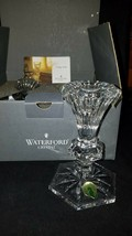 Waterford Crystal CHATHAM 5 in Pair of Crystal Candlesticks NEW Open Box - $95.00