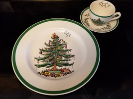 3 Piece Set Spode Christmas Tree Buffet Set, Christmas Dinnerware - $29.99
