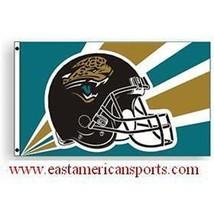 Jacksonville Jaguars NFL 3' x 5' Flag Pole Fan Banner Tailgate Football ... - $19.99