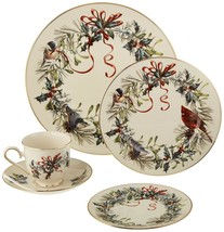 Lenox Winter Greetings 5 Piece Dinnerware Dish Set - $98.99