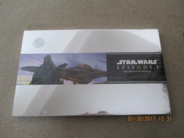 STAR WARS EPISODE 1 THE PHANTOM MENACE 20 LITHOGRAPHS ARTWORK PRINT DOUG... - $17.82
