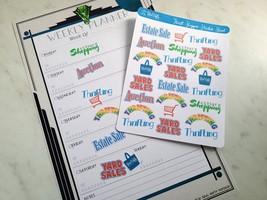 Thrift Shopper Sticker Sheet image 3