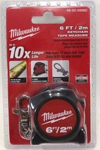 Milwaukee - 48-22-5506 - 6 ft. Keychain Tape Measure - $10.84