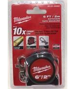 Milwaukee - 48-22-5506 - 6 ft. Keychain Tape Measure - $10.84