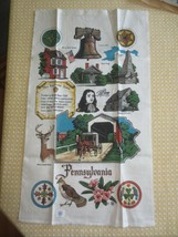 Kay Dee PENNSYLVANIA STATE Linen Kitchen Towel - NEW with STICKER - $7.92