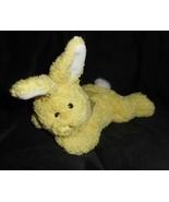 "9 "" Progressif Peluche Bree Bébé Jaune Bunny Rabbit Oeuf de Pâques Arc J... - $26.30"