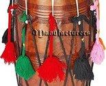Punjabi Bhangra Dhol Drums Dark Sheesham Wood Playing Stick Dholak Great Soundb - £233.97 GBP