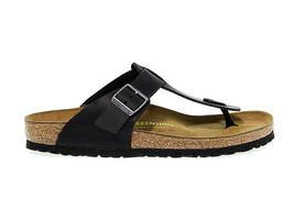 Sandal BIRKENSTOCK 046361 in black nubuck - Men's Shoes - $95.76