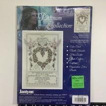 Janlynn Cross Stitch Kit Platinum Collection Wedding Doves - $28.13