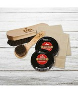 Black Shoe Shine and Shoe Polish Kit | Leather Shoe Cleaner for Shoes an... - $22.77