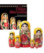 The Littlest Matryoshka Nesting Doll and Book Set - $40.00