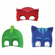 PJ Masks Paper Birthday Party Masks 8 Ct - $5.93