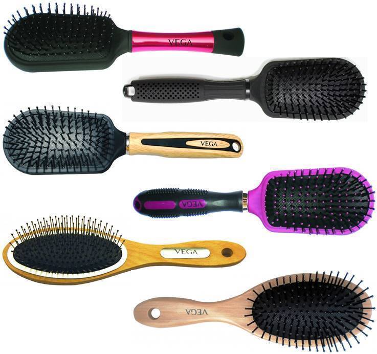 Primary image for Vega Cushioned Brush Choose from 6 Variants Hair Care