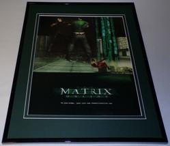 2004 Matrix Online Framed 11x14 ORIGINAL Advertisement - $34.64
