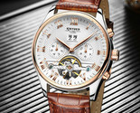 2017 watch automatic men classic rose gold leather mechanical wrist 1 thumb155 crop