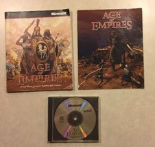 AGE OF EMPIRES I CD (very Scratched) + Instructions + Insert PC Game Win... - $30.00