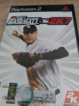 Sony PS2 Major League Baseball 2K7 image 1