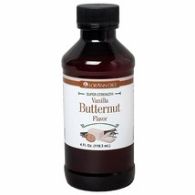 LorAnn Super Strength Vanilla Butternut Flavor, 4 ounce bottle - $17.81