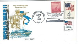 GREENEVILLE (SSN-772) Christening Sept 17 1994 USPS Pictorial Cancel HF ... - $3.47