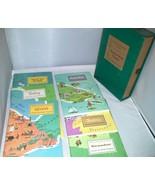 Around The World Program Set 2 American Geographic 6 Books Austria Plus ... - $12.99