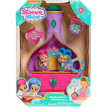 Nickelodeon Shimmer and Shine Magic Wishes Musical Jewelry Box NEW - $18.00