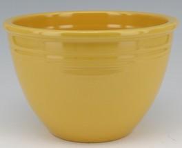 Vintage Original Fiesta #4 Yellow Mixing Bowl No Bottom Rings - EX Condition image 1