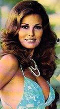 Raquel Welch Las Vegas glossy Post Card original 4x6 Photo R1035 - $9.79