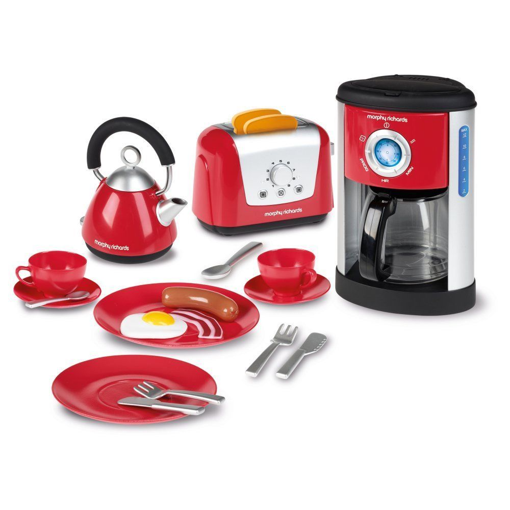 Morphy Richards Kitchen Set: Casdon Kids Play Morphy Richards Kitchen Set [New