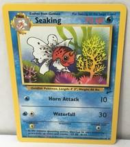 Seaking 60/130 Pokemon Card Original Base Set 2 Uncommon NM Great Condition - $2.16