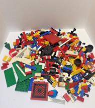 Bulk Vintage Legos Large Lot 2.7 lb  Wheels Plates Horse Mini FIgure Etc - $29.65