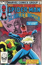 Marvel Team-Up Comic Book #130 Spider-Man and Scarlet Witch 1983 VFN/NEAR MINT - $3.75