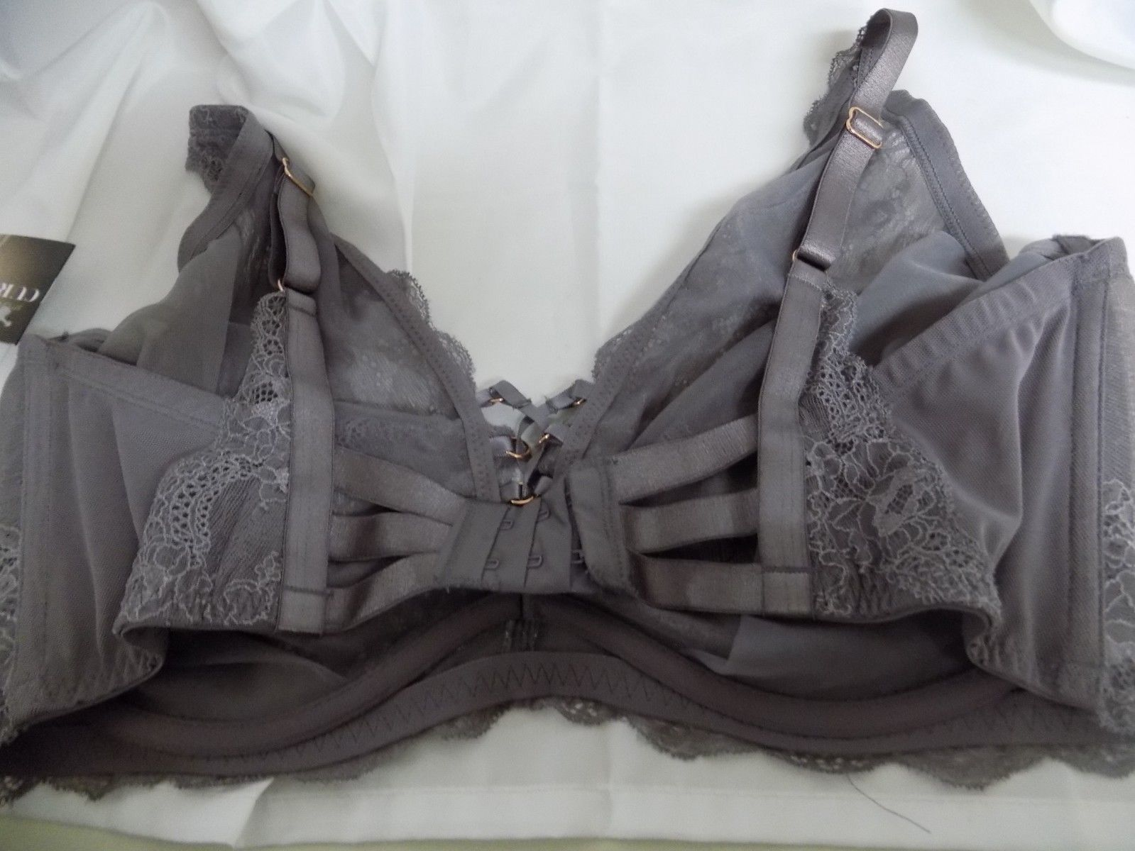 c455c409dd327 SMART SEXY CURVY COLLECTION LACE BRA SIZE 42DDD STYLE  1225 GRAY NEW